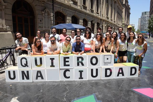 Intervención Ciudad con Todos en Paseo Bandera