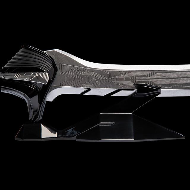 就算是堅硬的鋼鐵也能一刀斬斷!! WETA《艾莉塔:戰鬥天使》大馬士革刀 Damascus Blade 1:1 比例道具複製品 Cosplay版本/Display版本