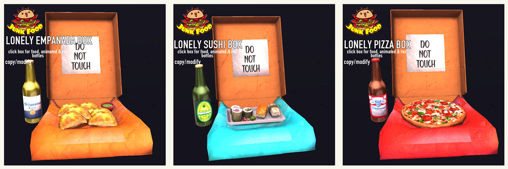 Junk Food – Lonely Food Boxes
