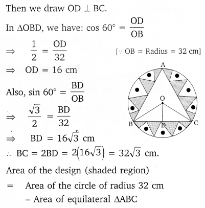 NCERT Solutions for Class 10 Maths Chapter 12 Areas Related to Circles 43