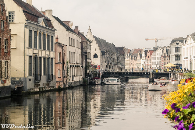 One day in charming Ghent (Belgium)