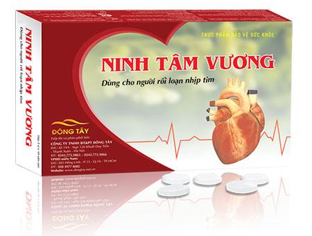 Sản phẩm Ninh Tâm Vương giúp giảm tim đập nhanh, hồi hộp, trống ngực