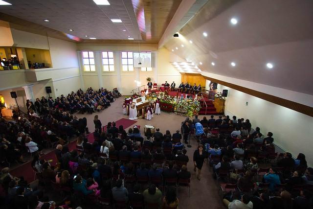 Servicios despedida pastor Orlando González Mora