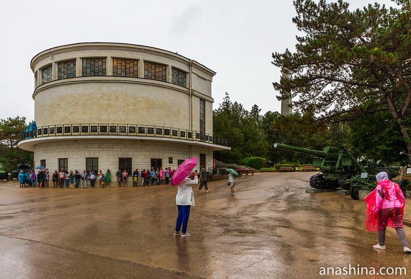 "Здание диорамы ""Штурм Сапун-горы 7 мая 1944 года"", Севастополь, Крым"