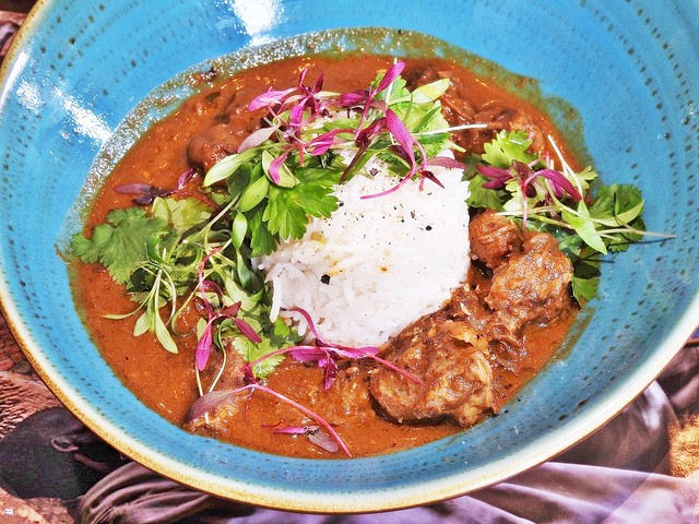 Caribbean Goat Curry