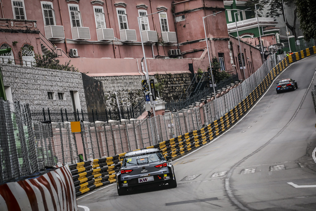 74 ORIOLA Pepe, (esp), Seat Cupra TCR team Oscaro by Campos Racing, action during the 2018 FIA WTCR World Touring Car cup of Macau, Circuito da Guia, from november  15 to 18 - Photo Francois Flamand / DPPI