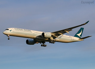 F-WZFN Airbus A350-1000 Cathay Pacific