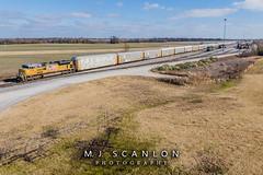 UP 8768 | EMD SD70ACe | UP Marion Intermodal Railport