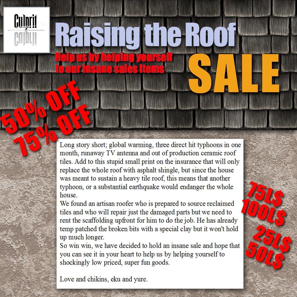roofsale22 - TeleportHub.com Live!