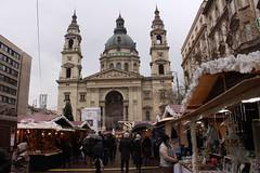 Budapest. Hungría. Mercado navideño