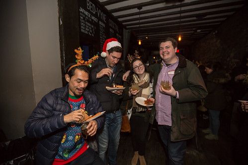 Brooklyn's Holiday Bed-Vyne Cocktail Party 2018!