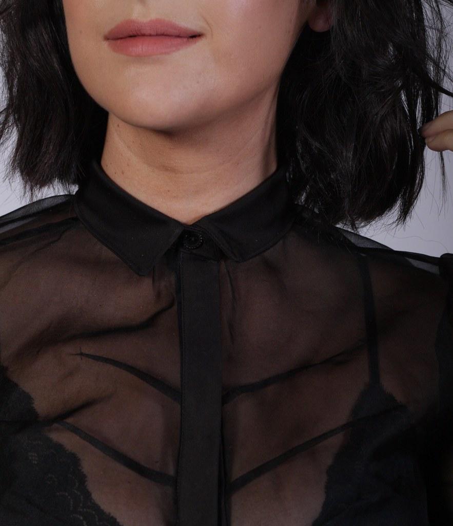 Julia Bobbin - Silk Organza Blouse