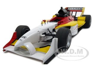 2007 A1 GP Overall Winner Team Germany Formula 1 118 Diecast Model Car by Autoart