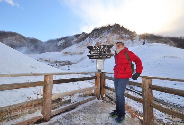 hokkaido itinerary jigokudani hell valley noboribetsu