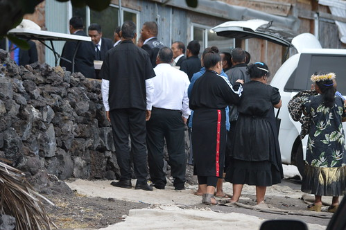 Deacon Boaz David, funeral