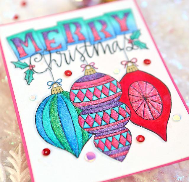 merry christmas 2 close up