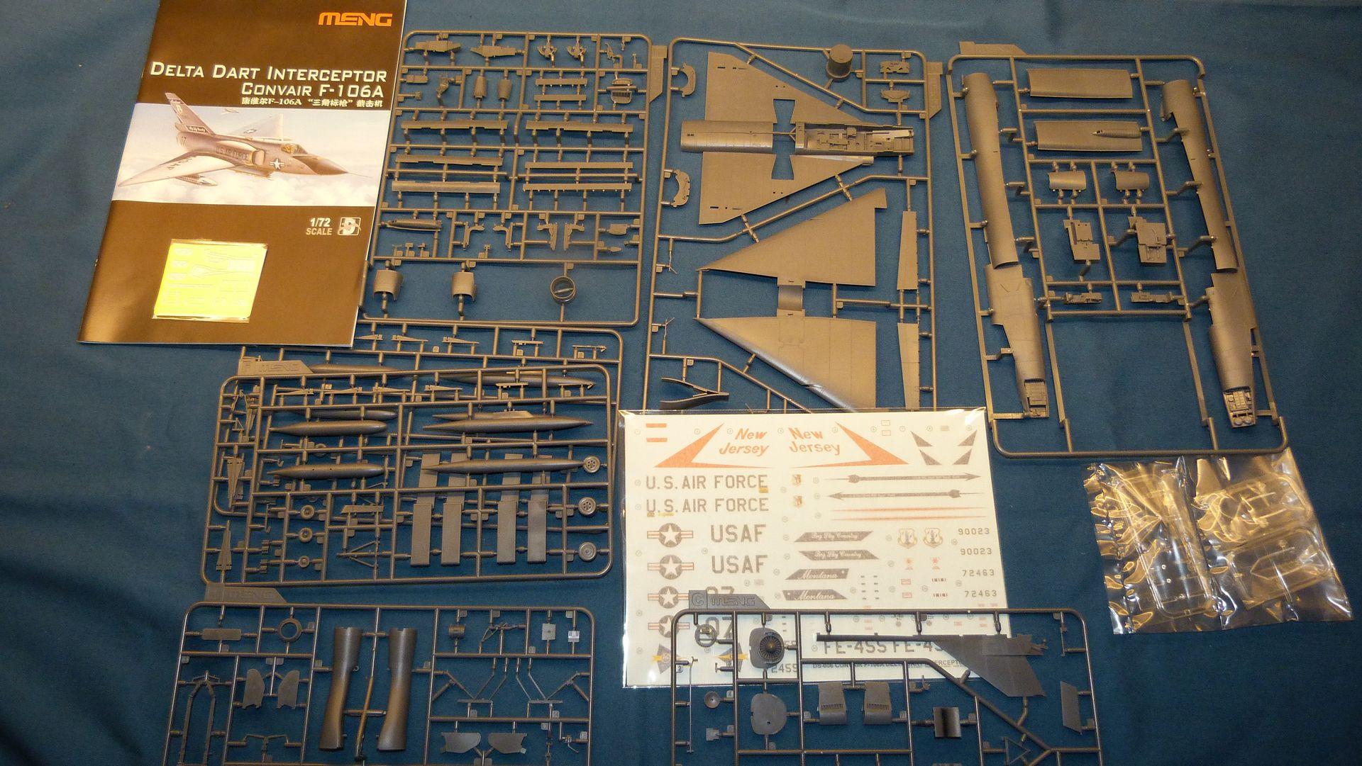Meng Deltavingar, F-102 och F-106, 1/72 44065039000_285cb2e846_o