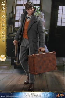 Hot Toys – MMS512 –《怪獸與葛林戴華德的罪行》紐特·斯卡曼德 Newt Scamander 1/6 比例人偶作品