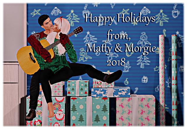 Matty and Morgie