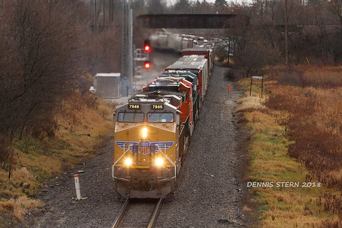 UP 7946, NB, SUSSEX, WI 11-6-18