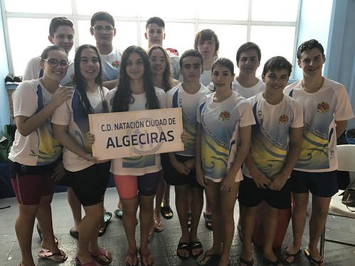 36 podiums para el CD Natación Ciudad de Algeciras en San Roque