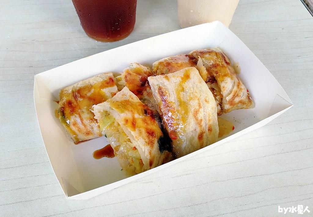 45255380074 96d248d923 b - 小時代眷村美食|超特別皮蛋風味蛋餅,還有蔥油餅、手工煎水餃