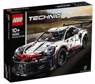 賽道王者的強悍外觀精美再現!! LEGO 42096 科技系列【保時捷 911 RSR】Porsche 911 RSR