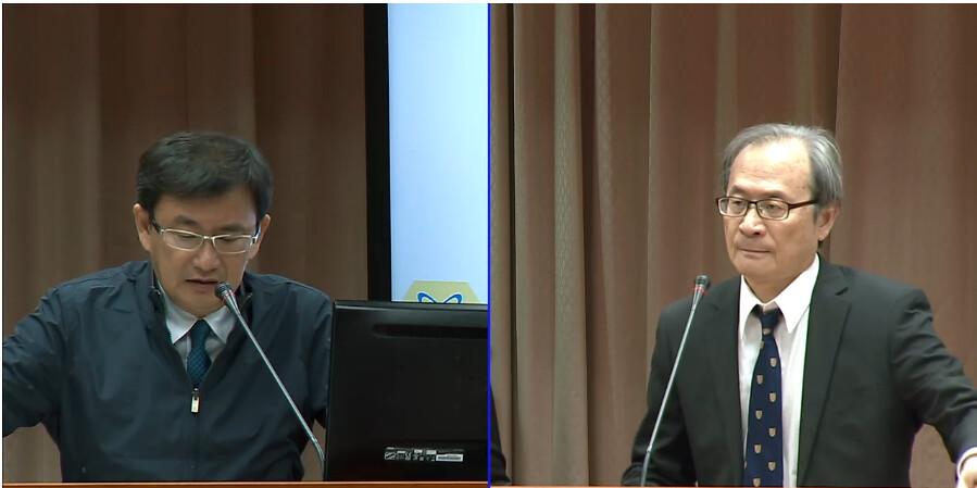 原能會主委謝曉星重申,核一、核二目前已經依法無法申請延役了。