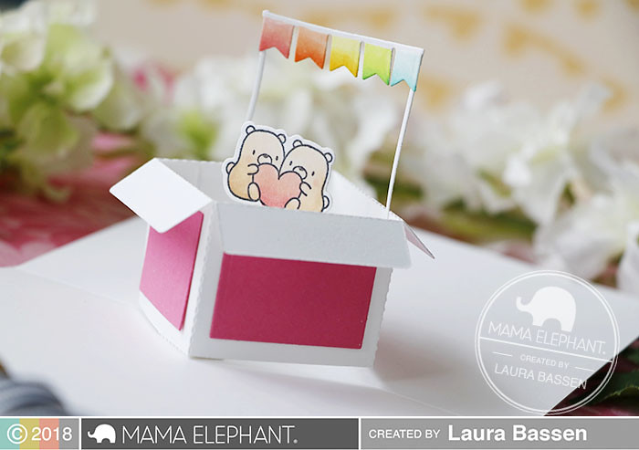 Mama Elephant-Inside Pop-Box of Fun-Creative Cuts