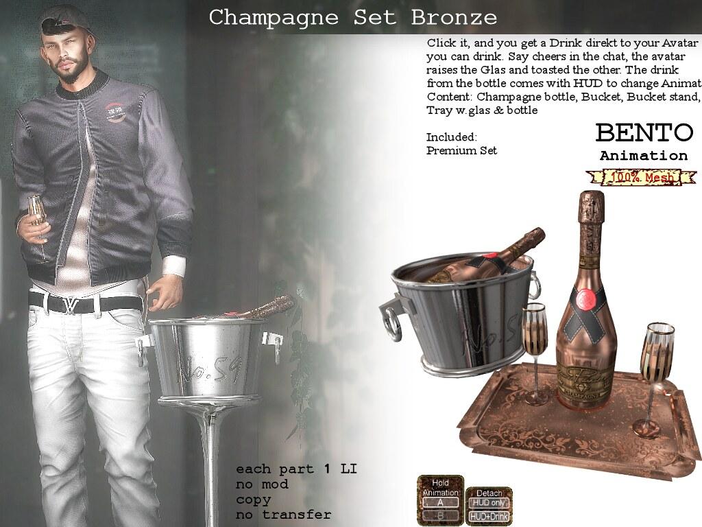 Champagne Bronze class - TeleportHub.com Live!