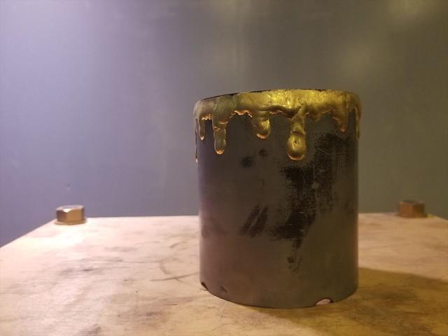 真鍮垂れ鉢