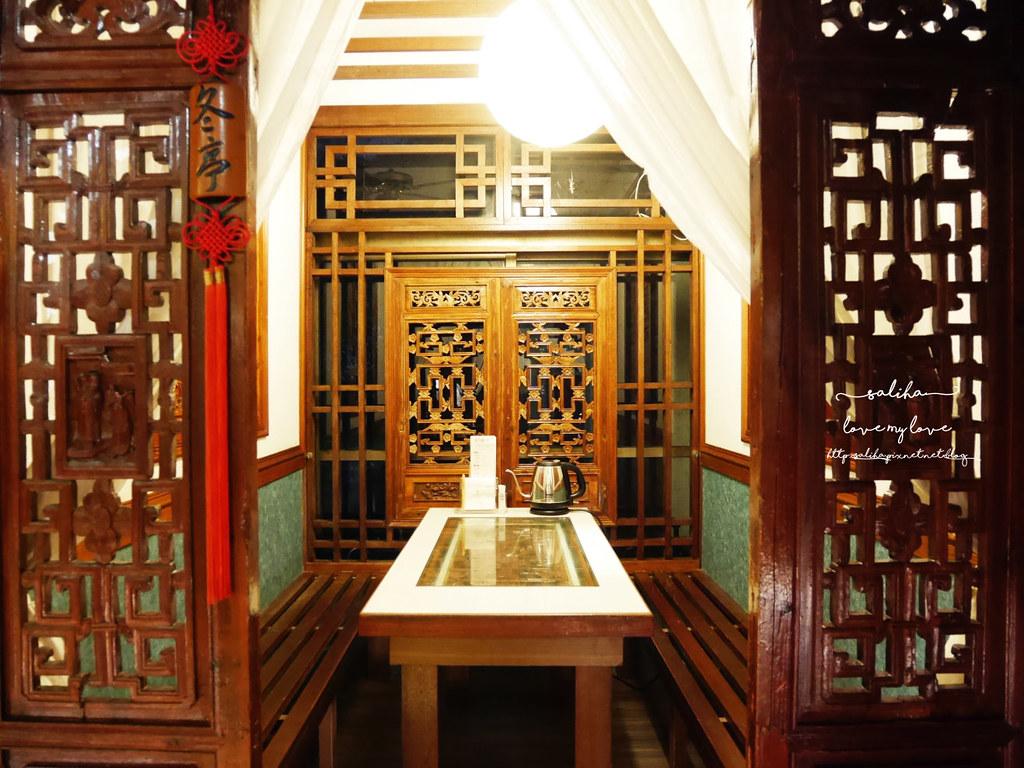 台北夜景景觀餐廳推薦貓空四爺SIHYE氣氛好浪漫聚餐茶香料理合菜 (10)