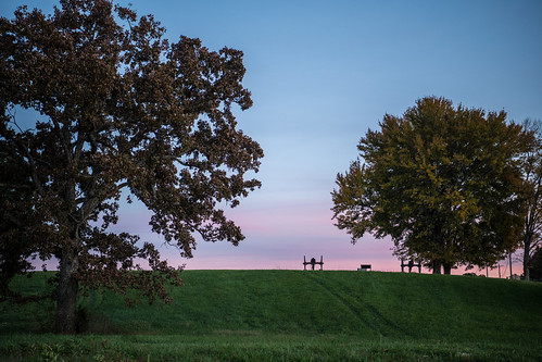 americanhistory civilwar kentucky pulaskicounty battlefield sunset millspringsbattlefield battleofmillsprings zollicofferpark