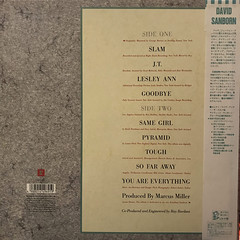 DAVID SANBORN:CLOSE-UP(JACKET B)