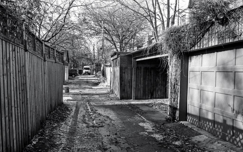 Cabbagetown Alley in November