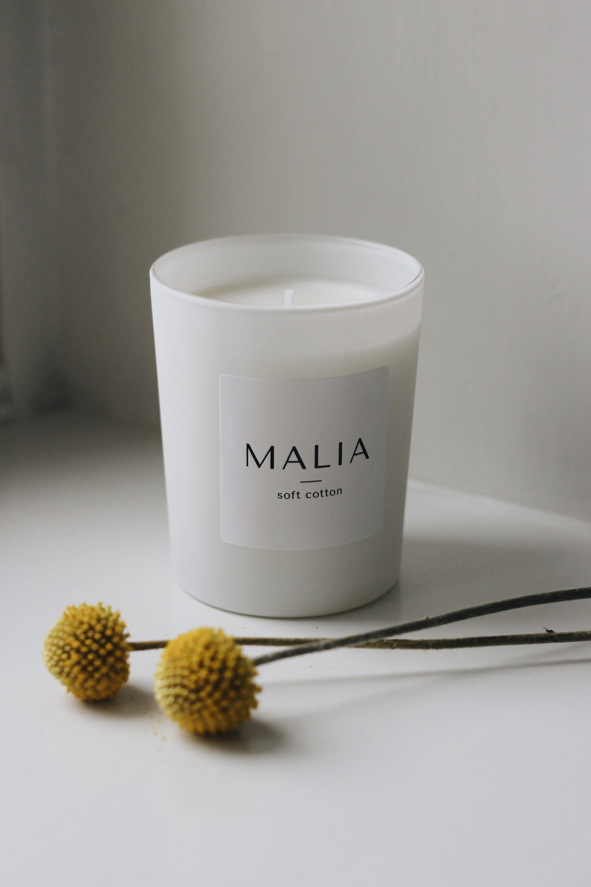 Malia Company scented candles