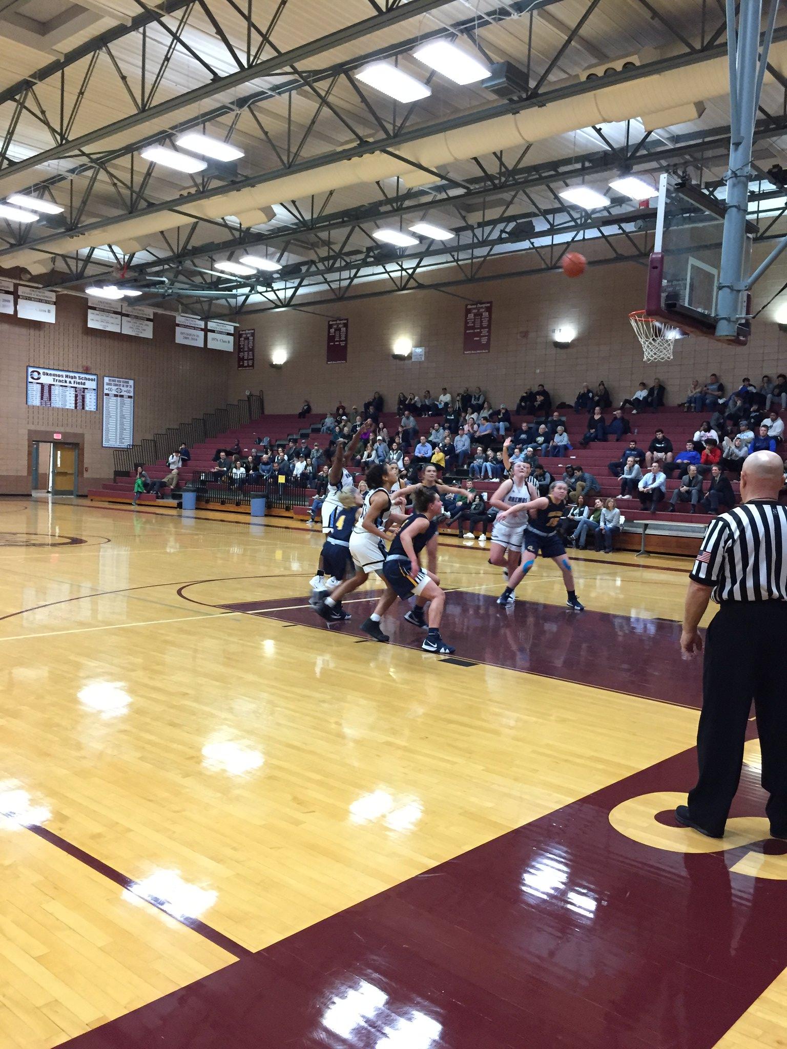 Okemos Girls Varsity Basketball vs. Grand Ledge Comets
