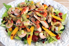 SEAFOOD SALAD….(WORTHY OF THE HOLIDAYS)