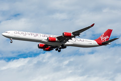 G-VNAP - Virgin Atlantic - Airbus A340-600