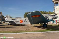 T2B-211-911-16---102---Spanish-Air-Force---CASA-352L-JU52---Madrid---181007---Steven-Gray---IMG_1504-watermarked