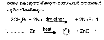 Plus One Chemistry Model Question Papers Paper 3 Q20