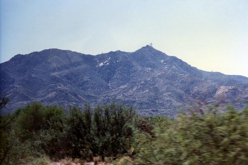 First view of Kitt Peak