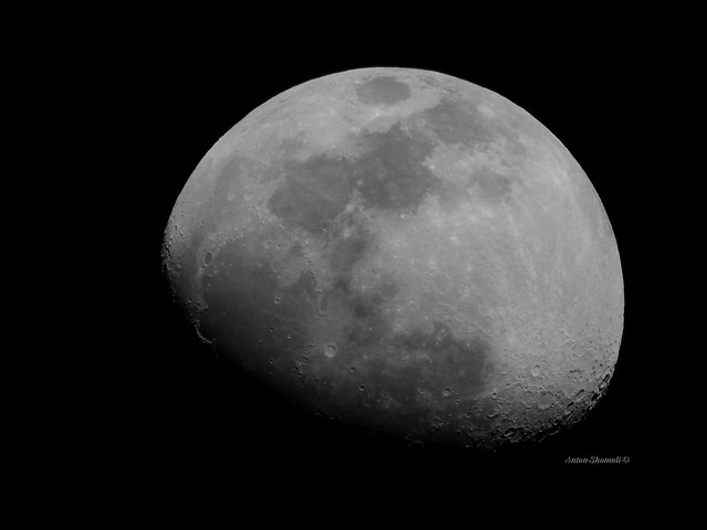 The Moon - Waxing Gibbous phase