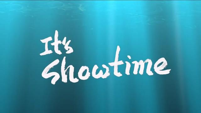 "Huckle 贊助我的大字 ""It's Showtime!"""