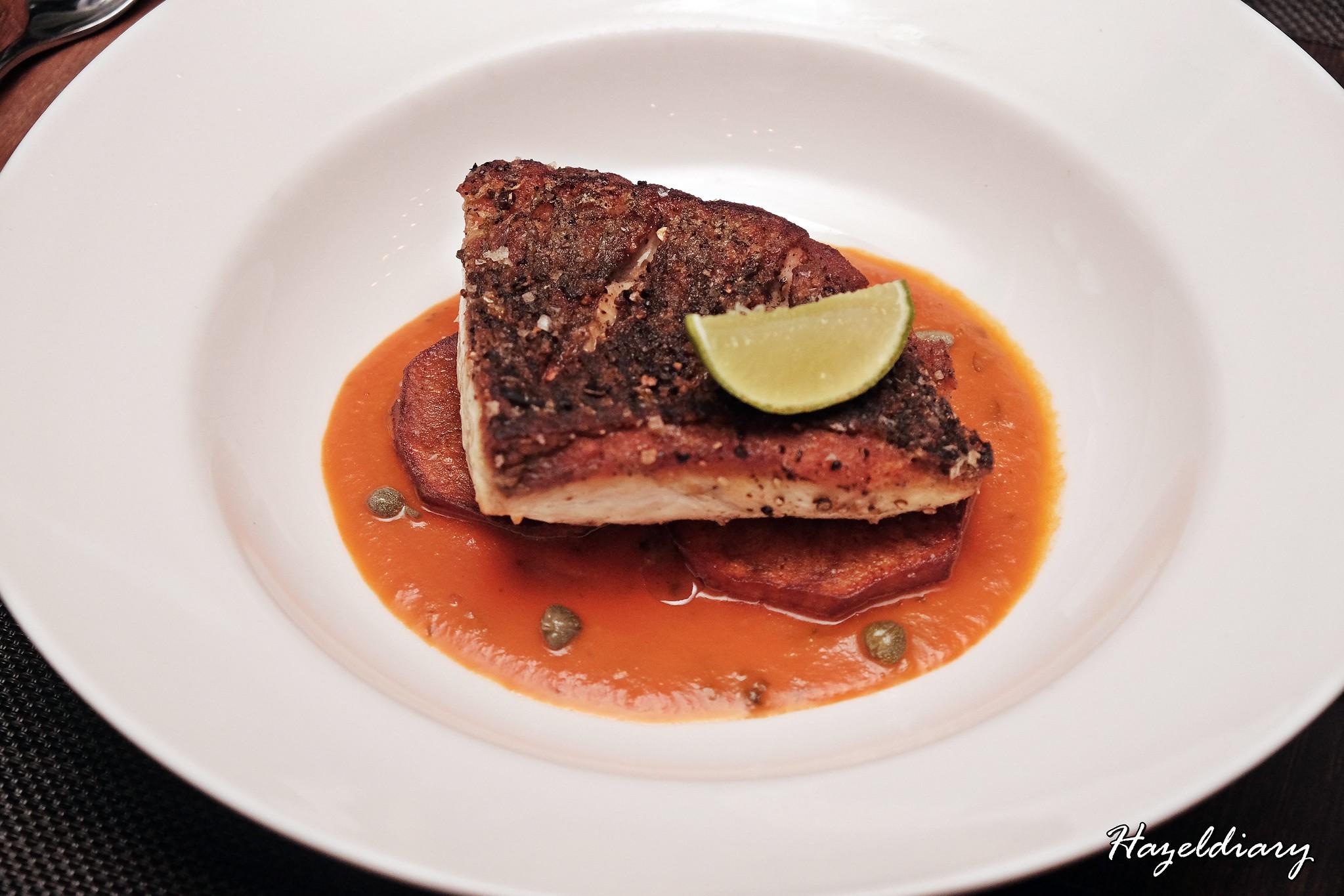 wooloomooloo steakhouse-Pan-seared Barramundi
