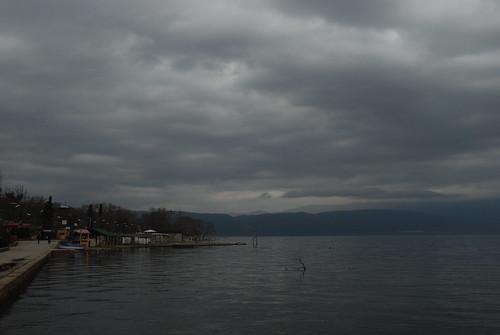 dojran macedonia macedonian beauty lake city stardojran old town nature treasure golden sands water cloud cloudy