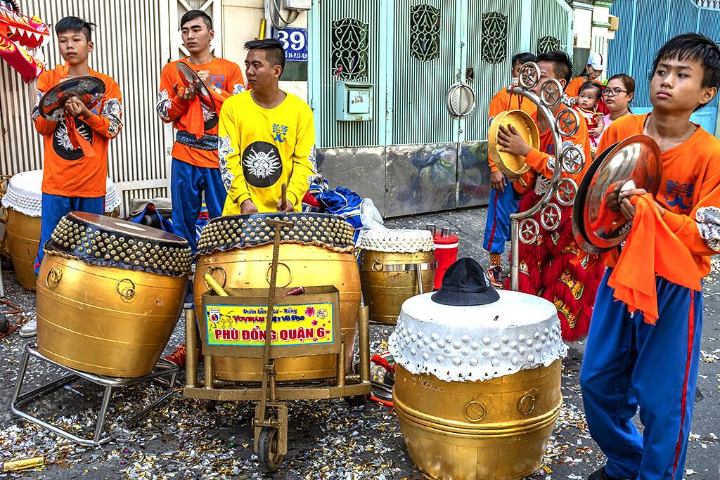 Members of Phu Dong Dance Troupe--Saigon