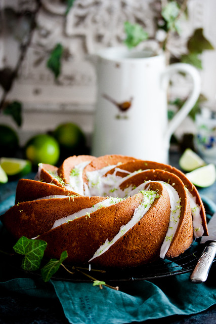 Gin & Lime Bundt Cake