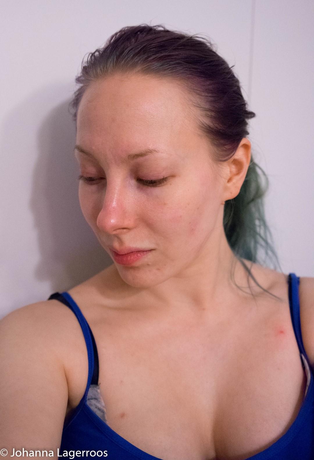 no makeup photo