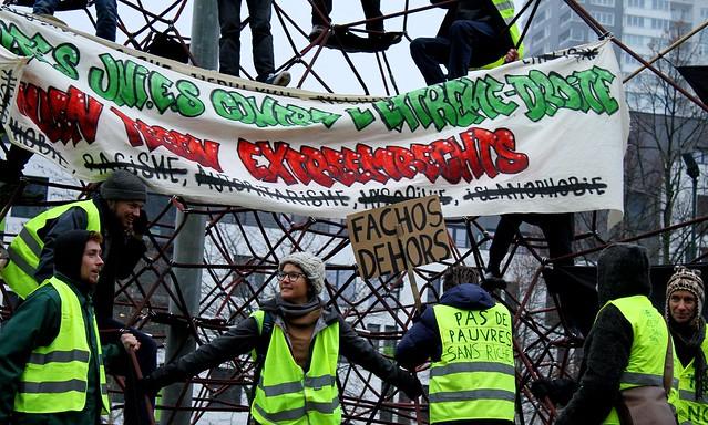 Betoging tegen extreemrechts // Liesbeth